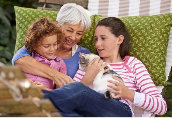 support grandchildren with pet loss